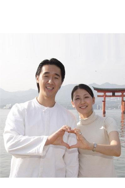 世界会長ご夫妻