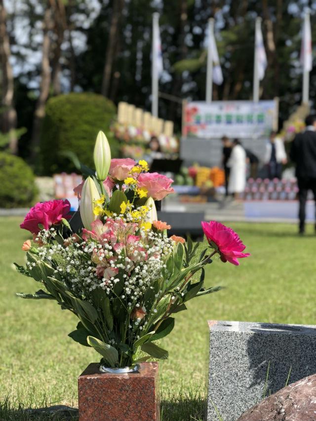 尾瀬霊園の聖和祝祭その1