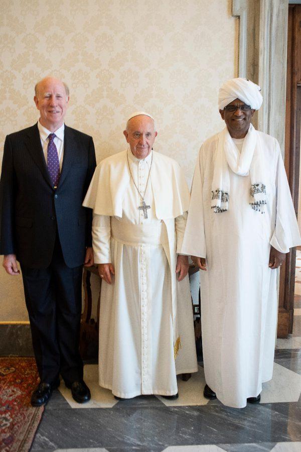 UPF会長団とローマ教皇