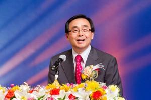 基調講演を行ったソンヨンチョン日本の総会長
