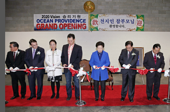 Family Federation for World Peace and Unification   True Mother Blesses Opening of New Ocean Providence Headquarters